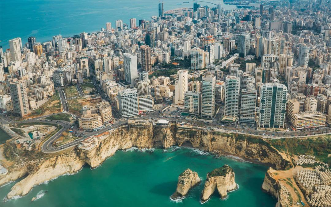Beirut City Skyline | Family Travel in the Middle East