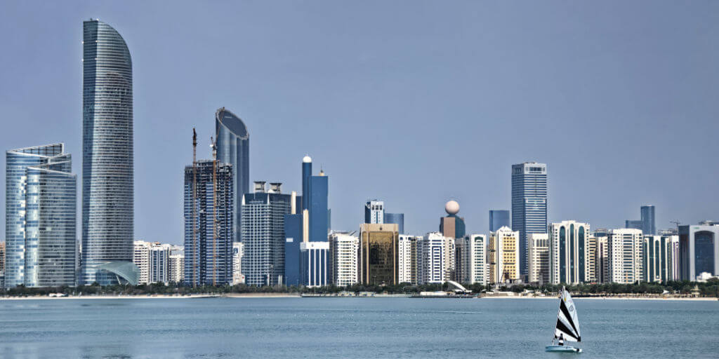 Abu Dhabi City Skyline