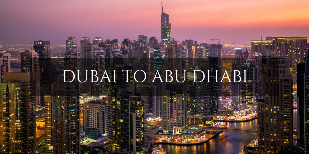How to get from Dubai to Abu Dhabi - all modes of transport explained | Family Travel in the Middle East