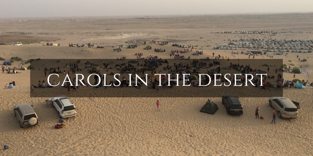Carols in the desert - a family guide of what to expect