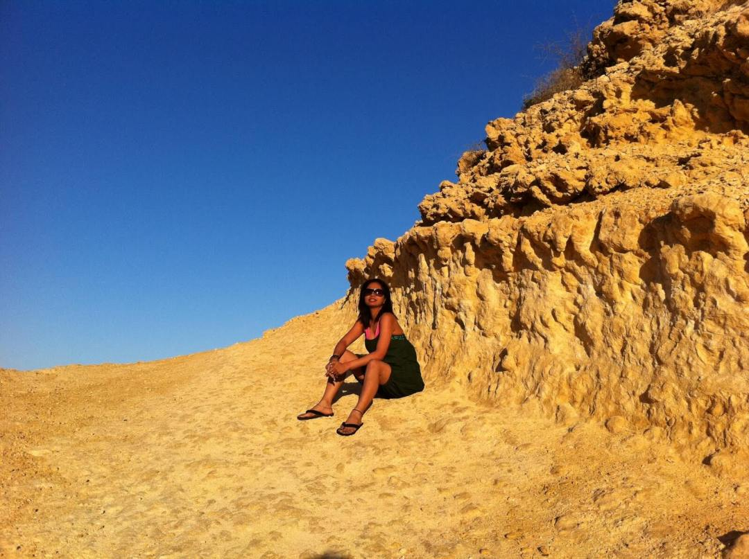 The Omani desert near Muscat. Image credit: Meghna Dixit