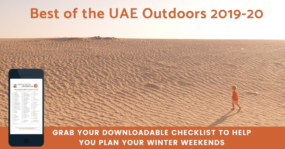 UAE Winter Weekends Checklist
