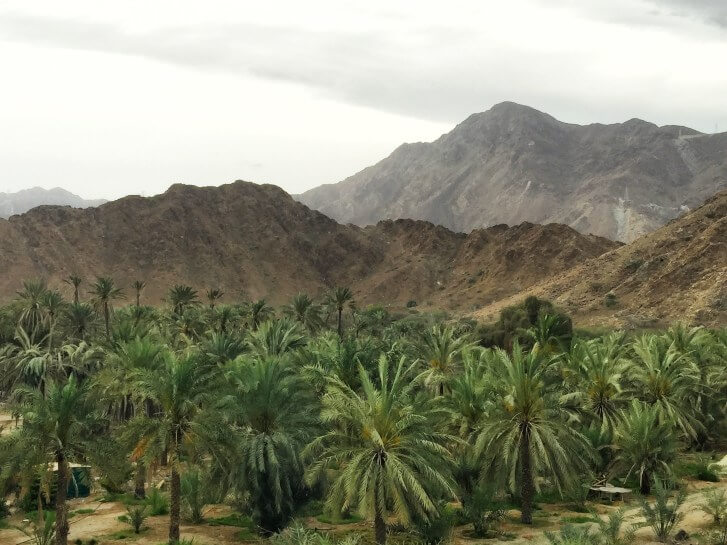 Fujairah and the Hajar Mountains UAE