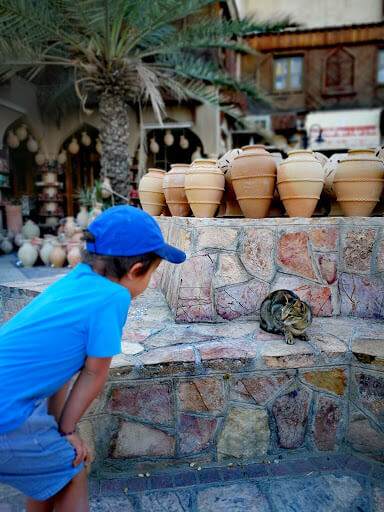 souks in Nizwa Oman