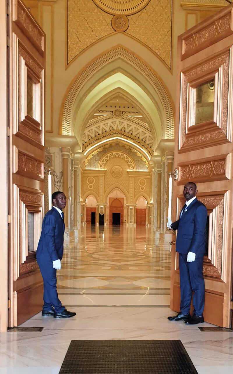 Qasr Al Watan Grand entrance
