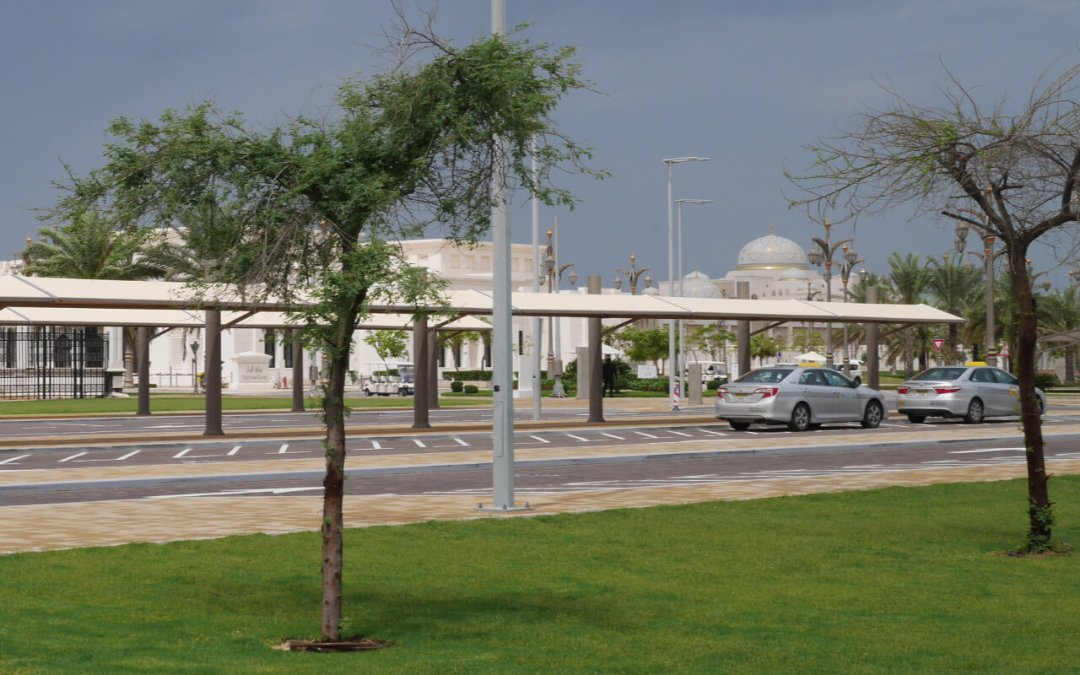 Qasr Al Watan taxi rank for visitors