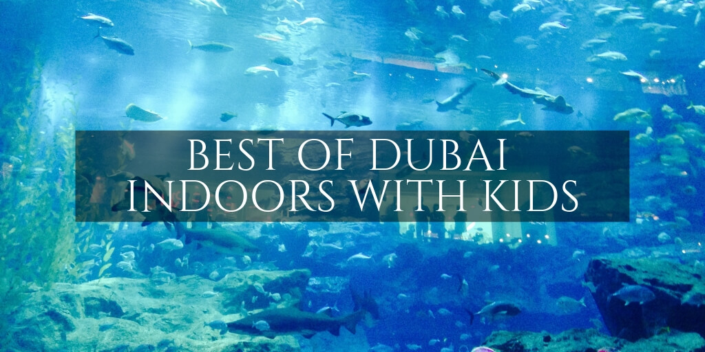 Dubai Aquarium - Indoor activites with kids in Dubai