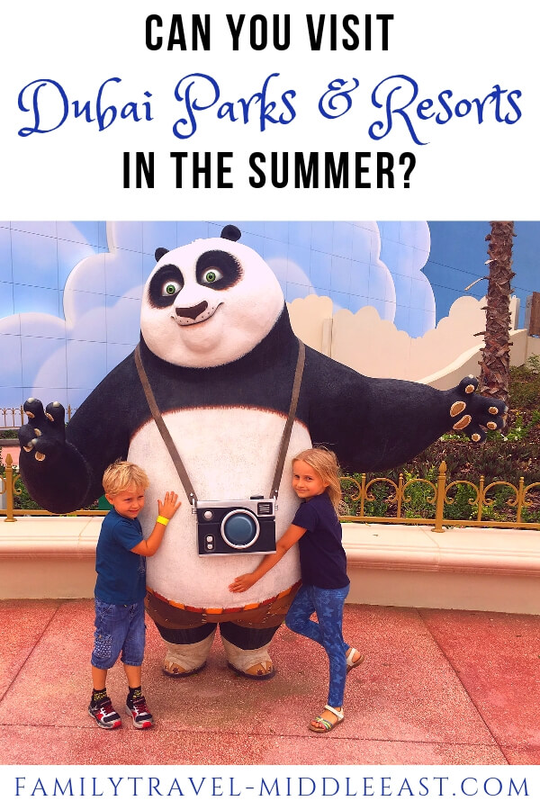 Dubai parks and Resorts Motiongate Kung Fu Panda