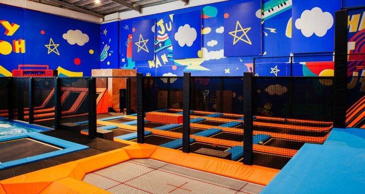 Jump Up Action Zone at Boutik Mall Abu Dhabi Island