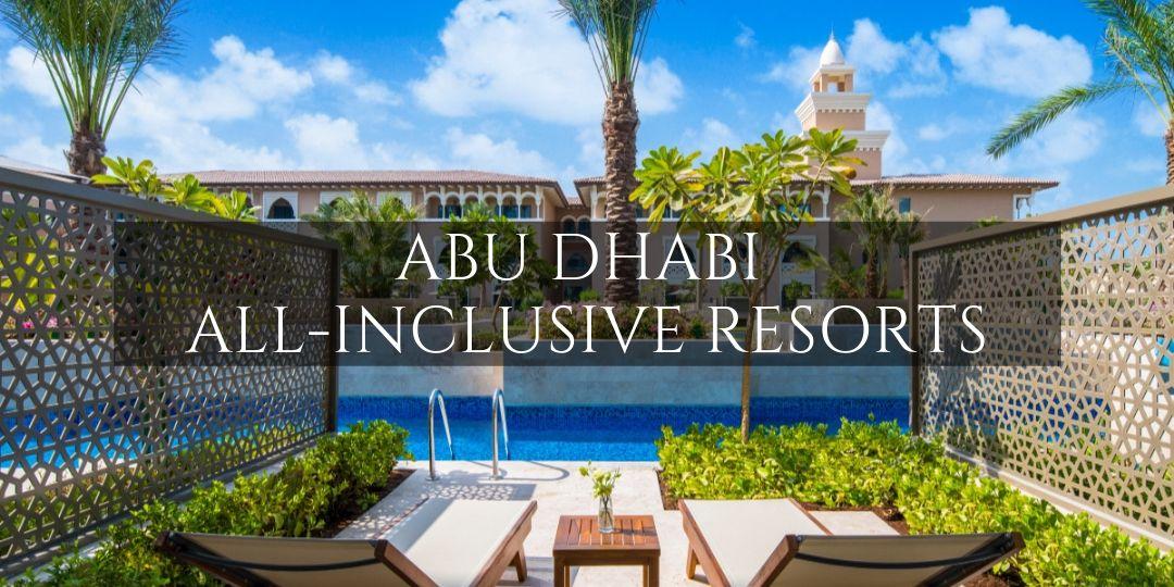 Abu Dhabi All Inclusive overlayed on picture of Rixos Saadiyat Island