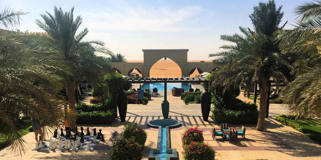 Tilal Liwa Hotel view of pool