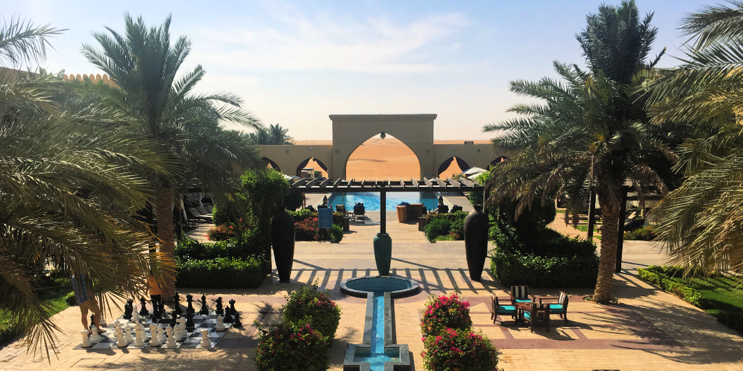 Tilal Liwa Hotel view of pool