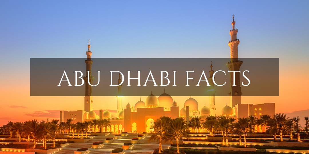 Abu Dhabi Facts - Sheikh Zayed Grand Mosque with evening glow
