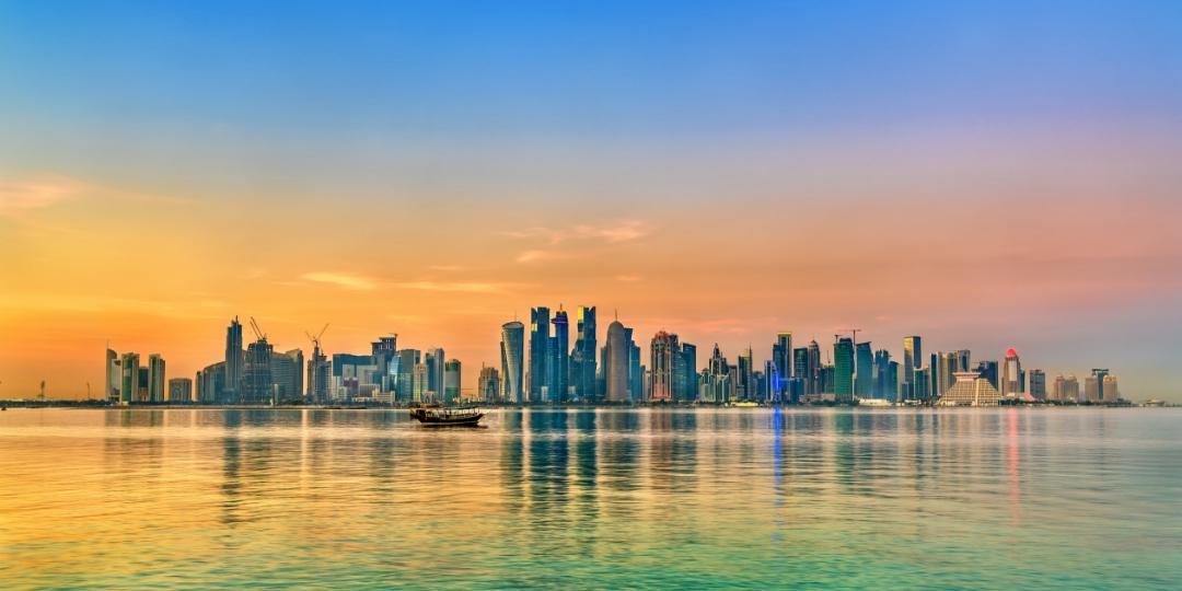 Doha Cityscape landscape skyline image