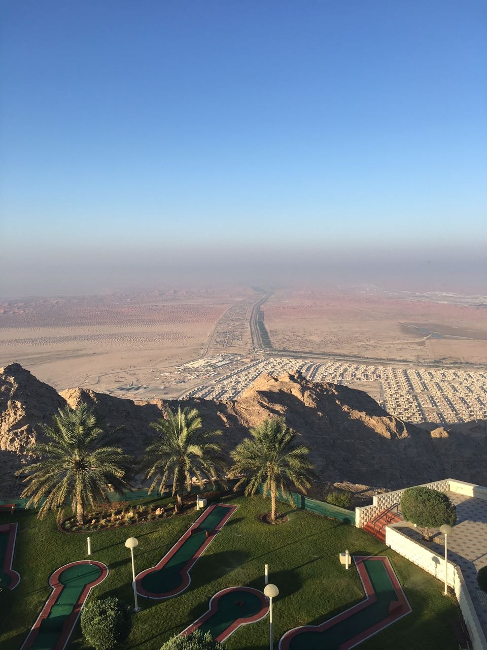 The views from Mecure Grand Jebel Hafeet