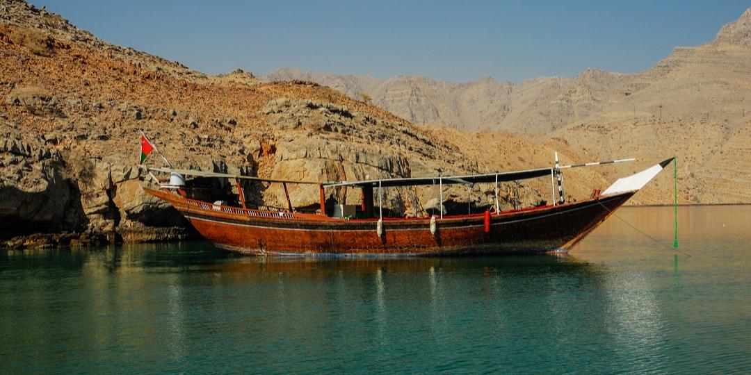 A boat moored at Telegraph Island