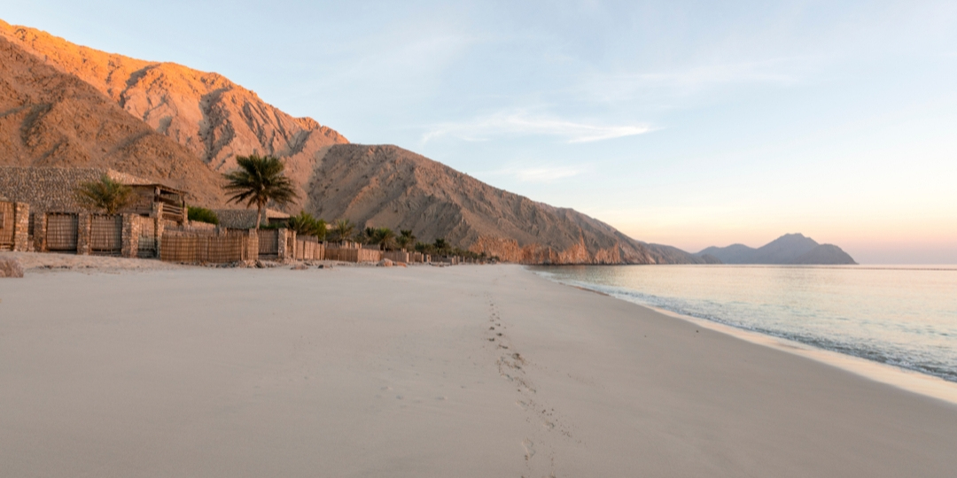 The Musandam Peninsula north of Diibba