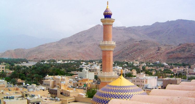 Nizwa the old capital of Oman