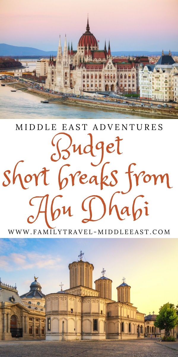 Destinations you can fly to on budget airline Wizz Air from UAE Capital Abu Dhabi