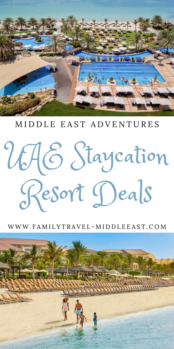 UAE Styacation resorts - summer special offers for UAE residents