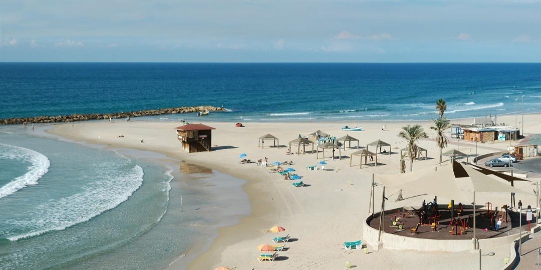 Beach in Israel Netanya