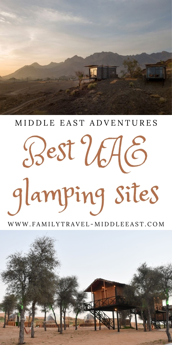 Best Glamping sites in the UAE for families