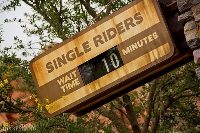 Disney Parks Tip:  The Single Rider Line