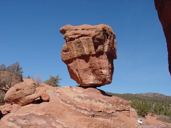 """Balanced Rock at Garden of the Gods"""