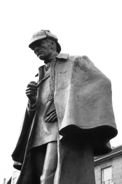 """Statue of Sherlock Holmes"""
