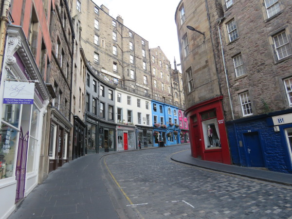 """Old Town Edinburgh"""