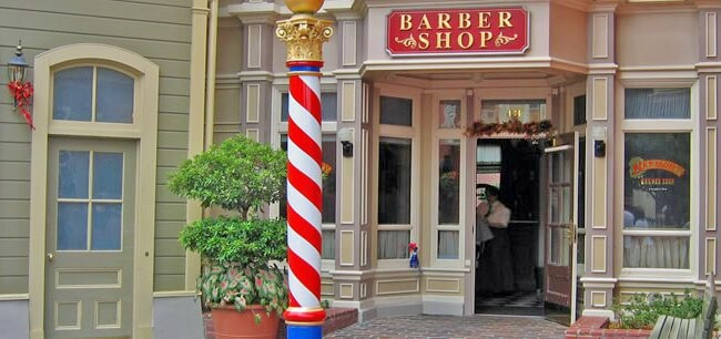 Harmony Barber Shop, Main Street USA