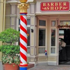 Harmony Barber Shop, Main Street USA