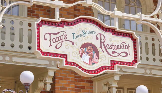 Tony's Town Square Restaurant Review: a Great Place to Dine at Disney World