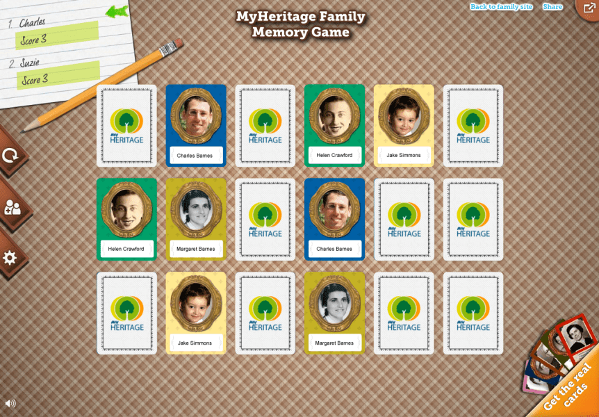 Turn Your Family Tree Into a Personalized Memory Game   Family Tree Turn Your Family Tree Into a Personalized Memory Game