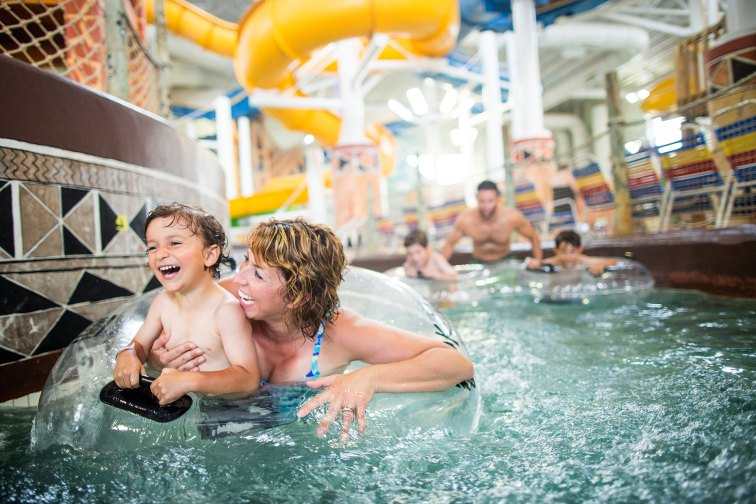 Indoor Water Park at Kalahari Resorts and Conventions in Wisconsin Dells