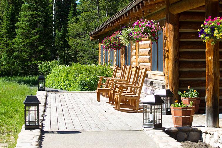 Jenny Lake Lodge in Grand Teton National Park, Wyoming