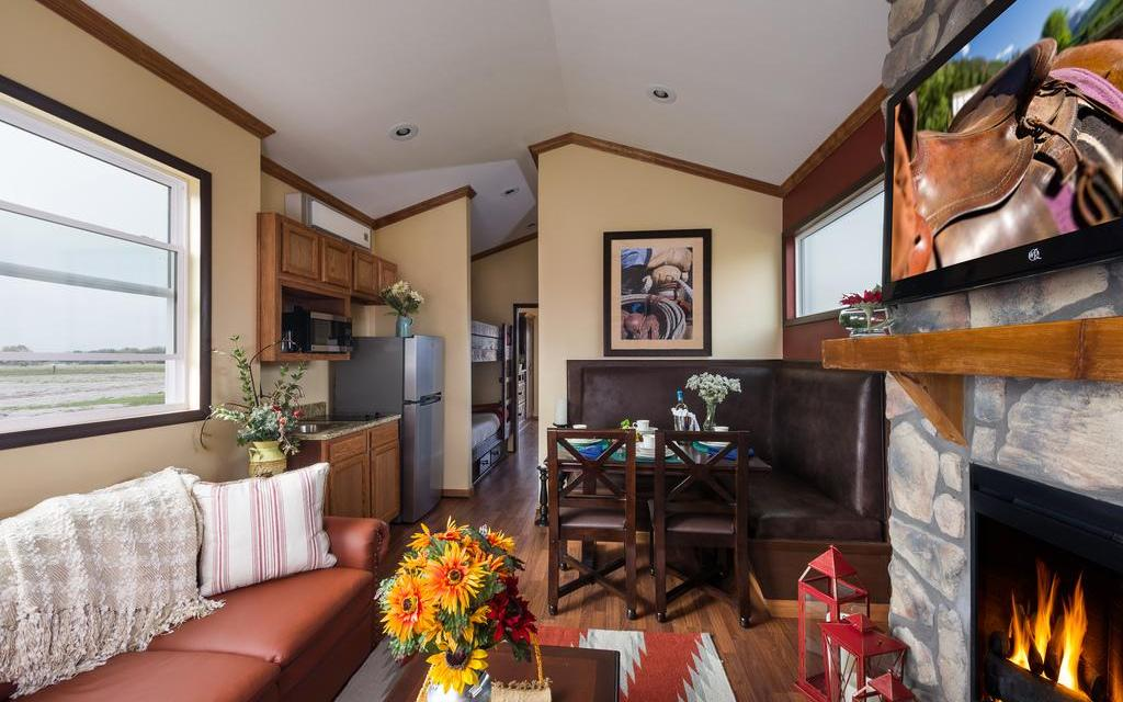 Railcar guest rooms at Westgate River Ranch; Courtesy of Westgate River Ranch