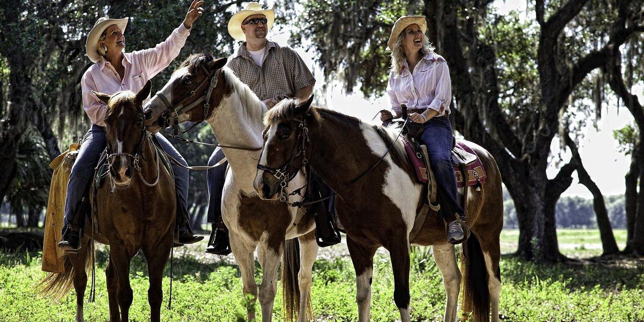 Horseback riding at Westgate River Ranch; Courtesy of Westgate River Ranch