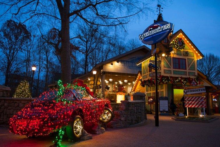 Christmas Town at Busch Gardens Williamsburg; Courtesy of Busch Gardens Williamsburg