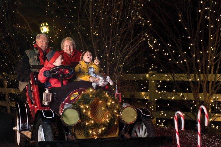 Hershey Sweet Lights at Hersheypark in Pennsylvania