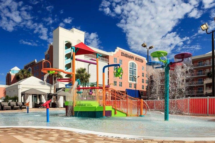 Water Play Area at Embassy Suites Orlando - Lake Buena Vista