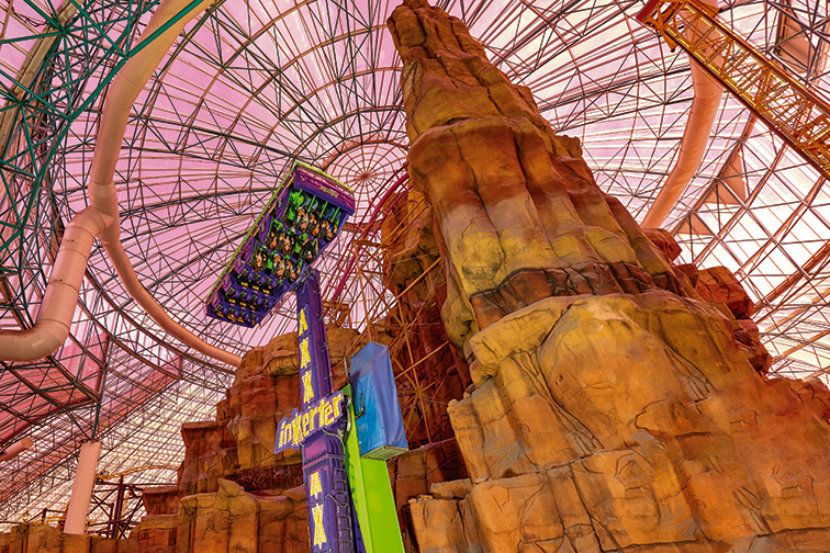 Adventuredome; Courtesy of Circus Circus