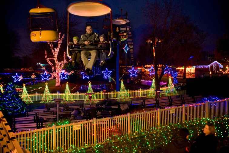 Winter Wonderland at Dutch Wonderland; Courtesy of Dutch Wonderland