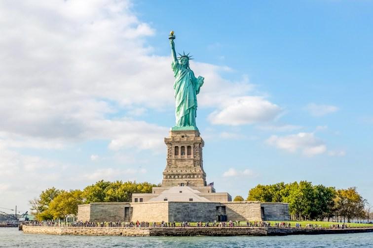 Statue of Liberty; Courtesy of Sanchai Kumar/Shutterstock.com
