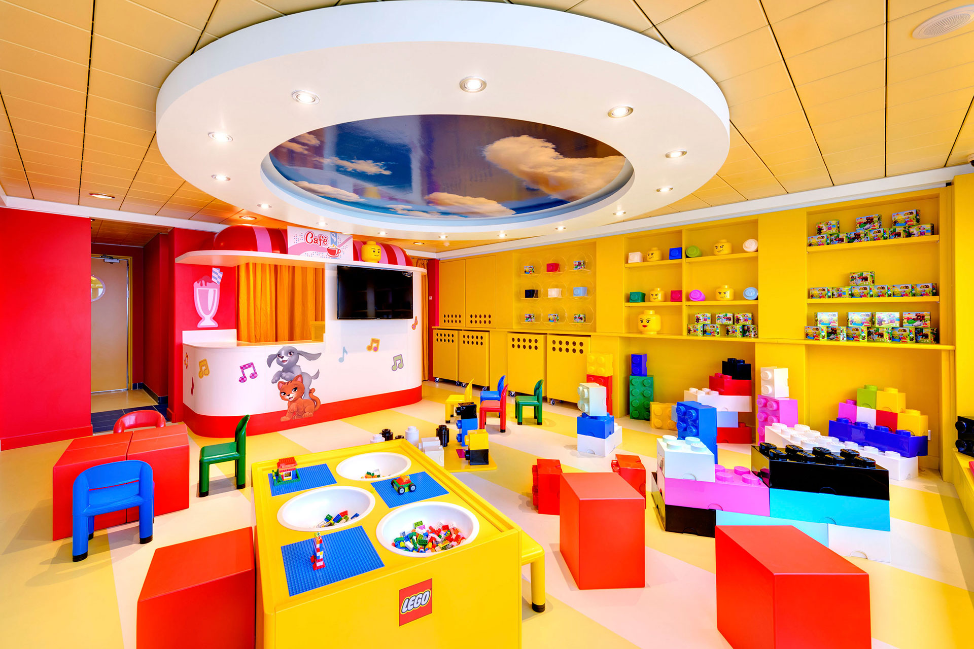 LEGO Experience on MSC Cruises; Courtesy of MSC Cruises