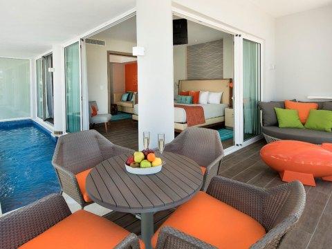 Suite at Nickelodeon Hotels and Resorts Punta Cana; Courtesy of Nickelodeon Hotels and Resorts Punta Cana