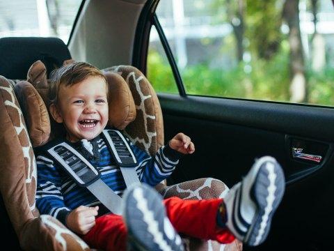 Toddler in Car Seat; Courtesy of David Tadevosian/Shutterstock.com