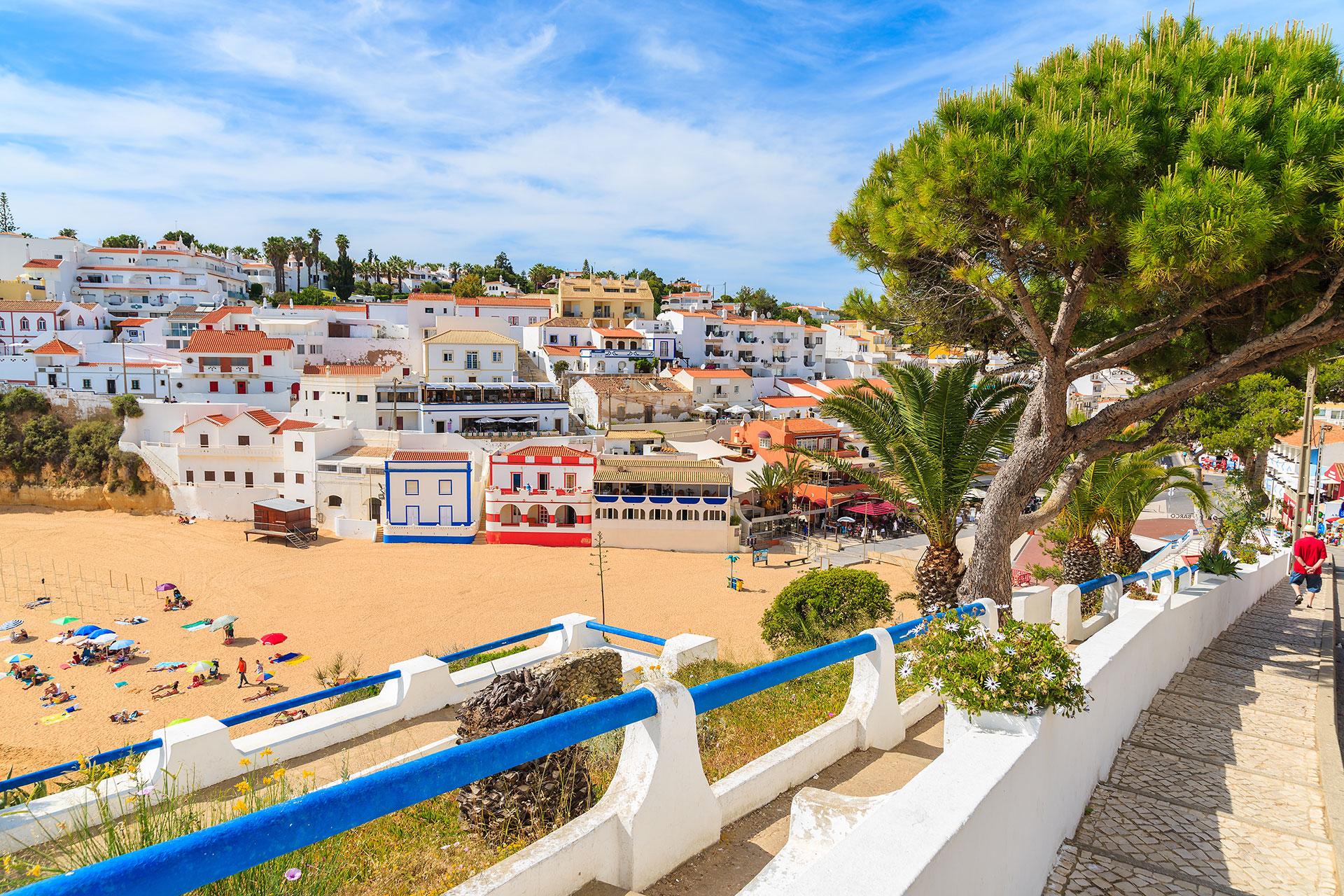 Algarve, Portugal; Courtesy of Pawel Kazmierczak/Shutterstock.com