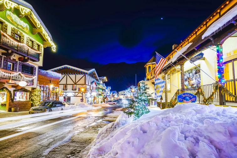Leavenworth, Washington; Courtesy of Checubus/Shutterstock.com