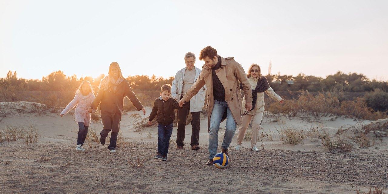 Multigenerational Family on the Beach; Courtesy of LightField Studio/Shutterstock.com